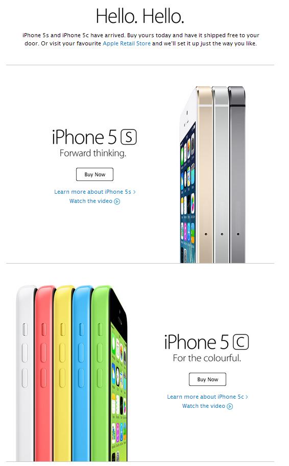 Apple e-shot