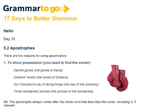 grammar-2-go